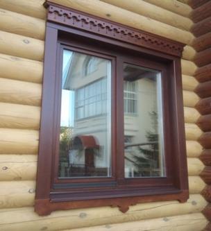 Евроокно деревянное из сосны или ценных пород дерева
