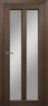 Дверь из массива, остекленное полотно из массива