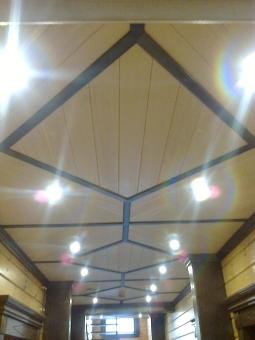 Кесонные потолки из дерева 2