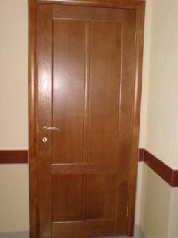 Двери из дуба (шпон)