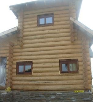 Евроокна для деревянного дома