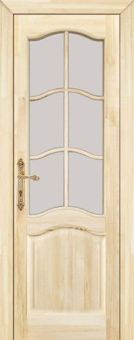 Дверь из массива эконом-класса, модель 16