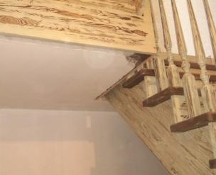 Лестница в стиле Прованс, модель 15