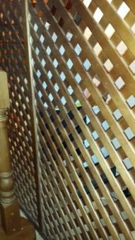 Декоративные решетки из дерева