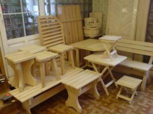 Мебель для сада и дачи на заказ, модель 8