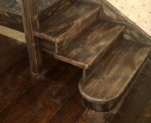 Лестница в стиле Прованс, модель 20