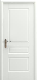 Дверь из массива межкомнатная белая