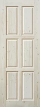 Дверное полотно из массива, модель 11