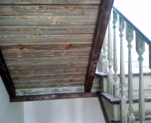 Лестница в стиле Прованс, модель 14