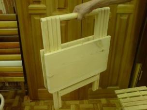 Складные стулья из дерева на заказ, модель 12