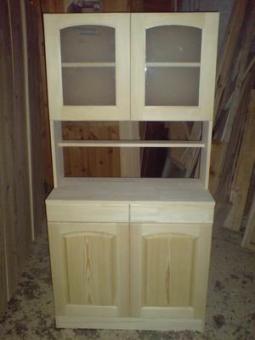 Мебель из массива дерева на заказ, модель 4