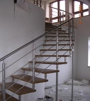 Лестница на больцах К8