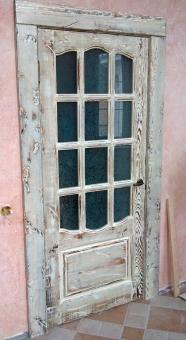 Дверь одностворчатая в стиле Прованс, модель 6