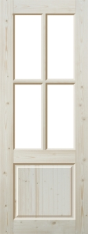 Дверь из массива эконом-класса, модель 20