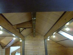 Кесонные потолки из дерева 6