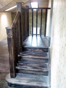 Лестница в стиле Прованс, модель 23