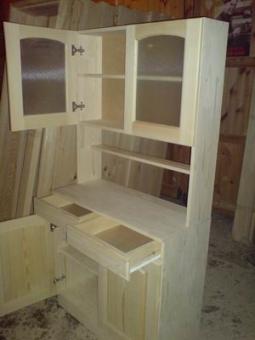 Мебель из массива дерева на заказ, модель 2
