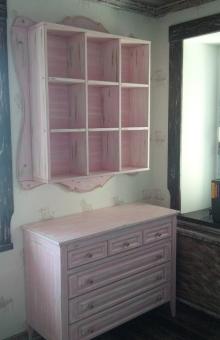 Мебель в стиле Прованс, модель 3