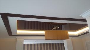 Отделка потолка декоративными элементами