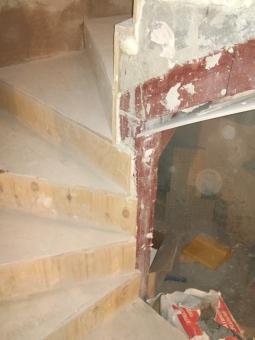Отделка и выравнивание бетонного марша